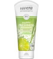 Lavera, Nawilżający żel pod prysznic, Odświeżający, Limonka i trawa cytrynowa, 200 ml