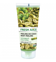 Fresh Juice, Peeling do ciała Lemongrass & Green Coffee, 200 ml