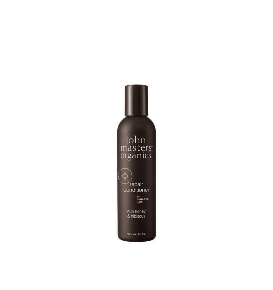 John Masters Organics, Odżywka do włosów zniszczonych z miodem i hibiskusem, 177 ml