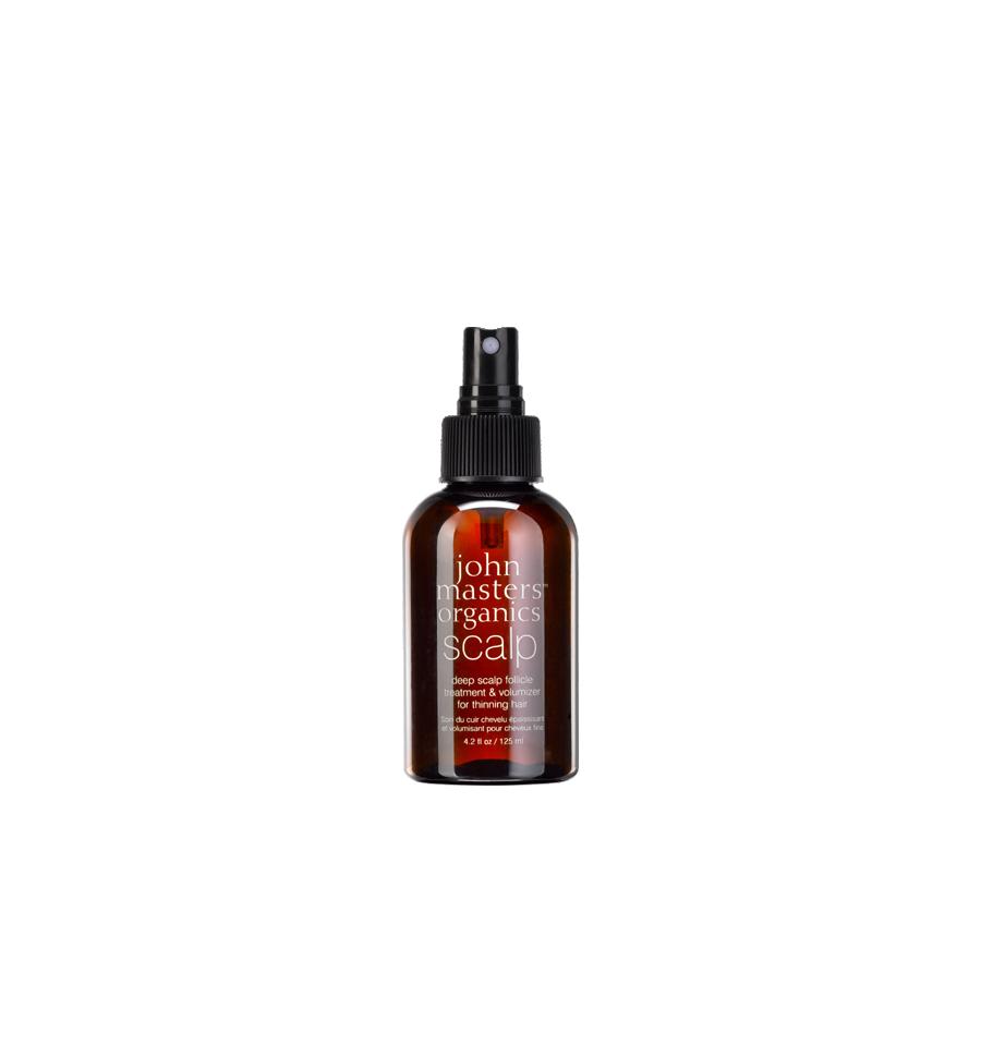 John Masters Organics, Spray do włosów pobudzający porost, 125 ml