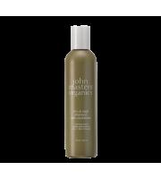 John Masters Organics, Szampon przeciwłupieżowy do włosów przetłuszczających się, Cynk i szałwia, 236 ml