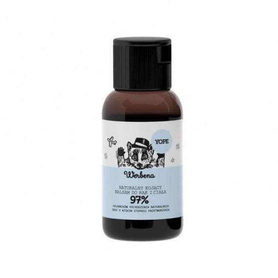 Yope, Werbena, Naturalny kojący balsam do rąk i ciała, 40 ml