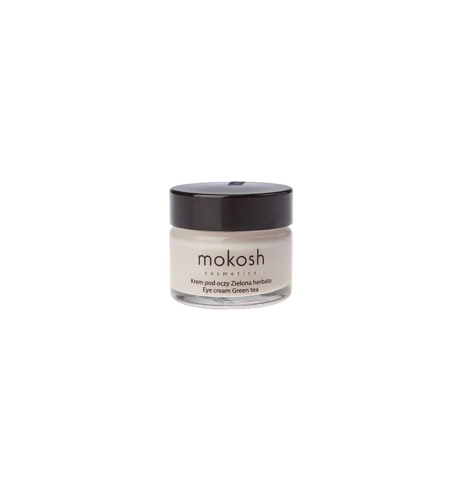 Mokosh, Zielona herbata, korygujący krem pod oczy, 15 ml