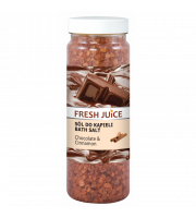 Fresh Juice, Sól do kąpieli Chocolate Cinnamon, 700 g