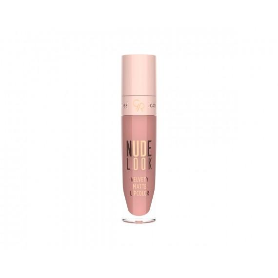 Golden Rose, Nude Look, Matowa pomadka w płynie 03 Rosy Nude, 5,5 ml