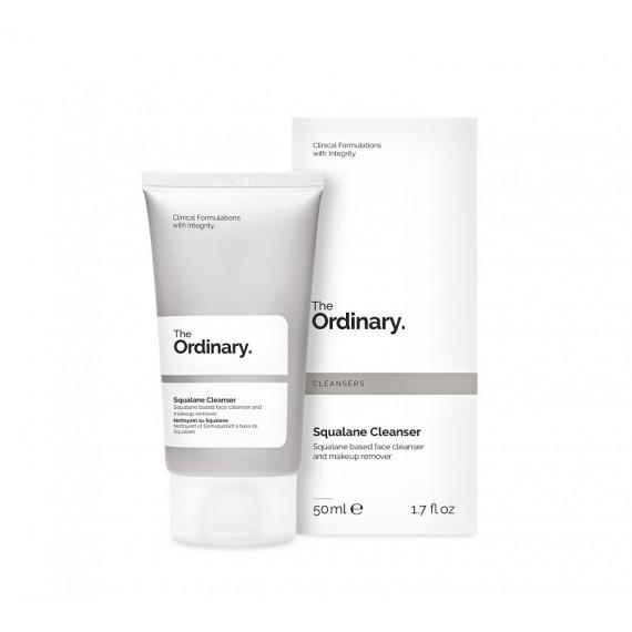 The Ordinary, Squalane Cleanser, Nawilżająca emulsja oczyszczająca, 50 ml