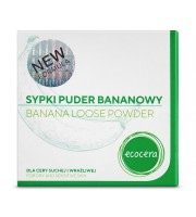 Ecocera, Sypki puder bananowy, 8 g
