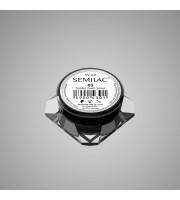 Semilac, UV Gel 03, Żel do zdobień, Spider Gum Silver, 5 g