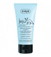 Ziaja, Jeju, Biały mus do twarzy na dzień, nawilżająco-ochronny, 50 ml