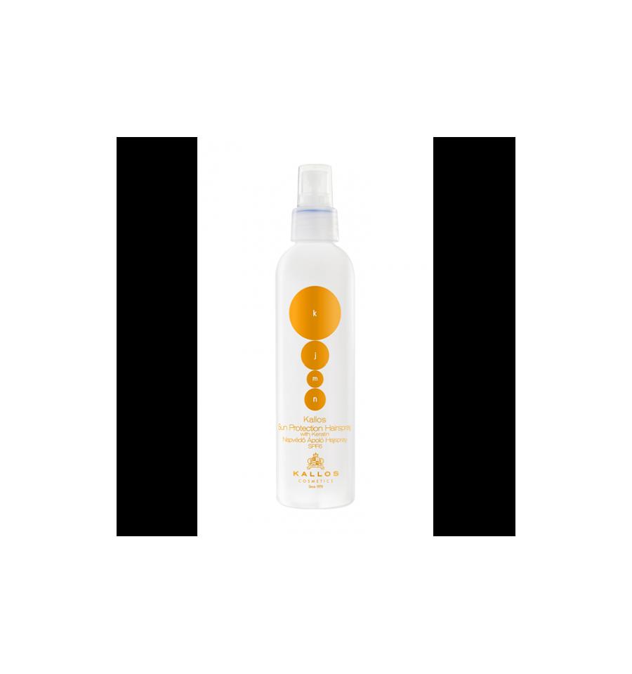 Kallos, KJMN Sun Protection Hairspray, Spray ochronny do włosów SPF 6, 200 ml