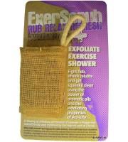 Ancient Wisdom, Exerscrub, Myjka z juty & Mydło Wygładzający Relaks, 130 g