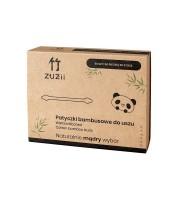 ZUZii, Patyczki bambusowe dla uszu dla dzieci, 50 sztuk