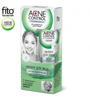 Fitokosmetik, Acne Control, Peeling do twarzy miękki odnawiający, 45 ml