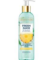Bielenda, Fresh Juice,  Żel micelarny ananas 190 g