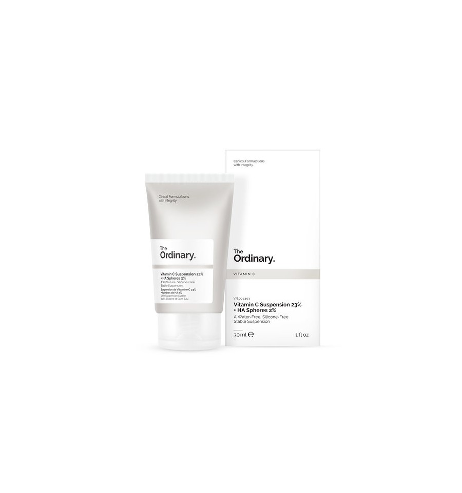 TThe Ordinary, Vitamin C Suspension 23% + HA Spheres, 2%, Serum z 23% Witaminą C i 2% Kwasem Hialuronowym, 30 ml