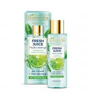Bielenda, Fresh Juice,  Detoksykująca hydro-esencja do pielęgnacji twarzy Limonka, 110 ml