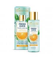 Bielenda, Fresh Juice Nawilżająca hydro-esencja do pielęgnacji twarzy Pomarańcza, 110 ml