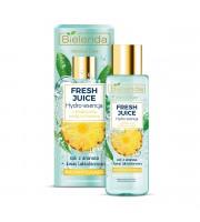 Bielenda, Fresh Juice Rozświetlająca hydro-esencja do pielęgnacji twarzy Ananas, 110 ml