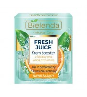 Bielenda, Fresh Juice Nawilżający krem booster z bioaktywną wodą cytrusową Pomarańcza, 50 ml