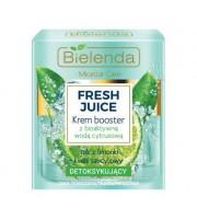 Bielenda, Fresh Juice Detoksykujący krem booster z bioaktywną wodą cytrusową Limonka, 50ml
