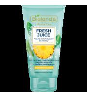 Bielenda, Fresh Juice Rozświetlający enzymatyczny do twarzy Ananas, 150 gr