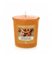Yankee Candle, GOLDEN CHESTNUT, mała świeca 49 g