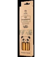 Zuzii, Słomki bambusowe 10 sztuk + szczoteczka