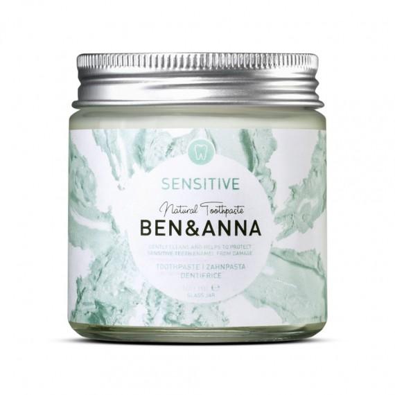 Ben&Anna, Naturalna pasta do zębów Sensitive, 100 ml