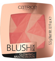Catrice, Blush Box Glowing + Multicolour, 010, Róż do policzków, 5,5 g