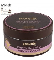 Ecolab, Ecolatier, Maska do włosów Intensywna Regeneracja Brazilian Cupuacu, 200 ml
