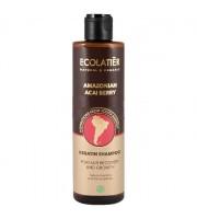 Ecolab, Ecolatier, Szampon do włosów Regeneracja i Wzrost, Amazonian Acai Berry, 250 ml