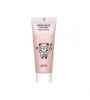 Skin79, Animal Color Clay Mask Dark Panda, Maseczka rozjaśniająca do twarzy, 70 ml