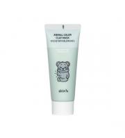Skin79, Animal Color Clay Mask Mouse with Blemishes, Maseczka oczyszczająca do twarzy, 70 ml