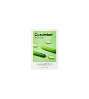 Missha, Airy Fit Sheet Mask Cucumber, Nawilżająco-nawadniająca maseczka w płachcie, 19 ml