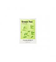 Missha, Airy Fit Sheet Mask Green Tea, Nawilżająca maseczka w płachcie, 19 ml