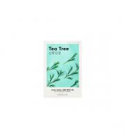 Missha, Airy Fit Sheet Mask Tea Tree, Łagodząca maseczka w płachcie, 19 ml