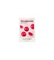Missha, Airy Fit Sheet Mask Pomegranate, Ujędrniająca maseczka w płachcie, 19 ml