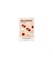 Missha, Airy Fit Sheet Mask Shea Butter, Nawilżająco-odżywcza maseczka w płachcie, 19 ml