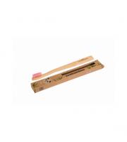 Ecobamboo, Szczoteczka bambusowa Soft, różowa