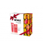L'Biotica, Biovax, Zestaw Opuntia Oil & Mango, Lipidowa Odbudowa, Szampon + Odżywka