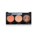 Hean, Paleta modelująca 3w1, Shape & Glow, 8 g