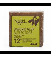 Najel, Mydło Aleppo 12% Olej laurowy, 170 g