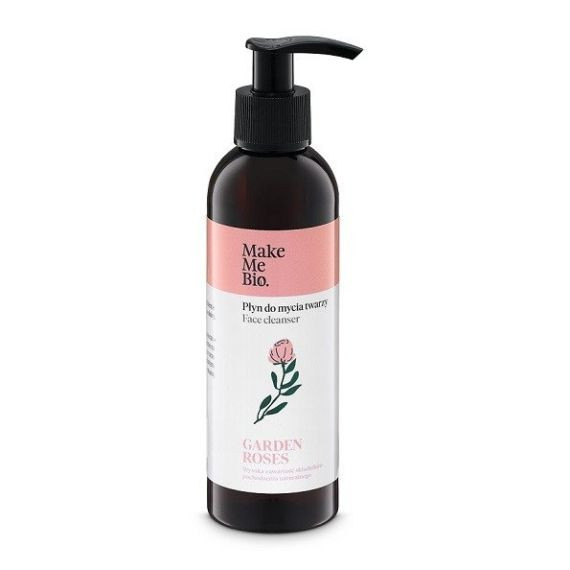 Make Me Bio, Płyn do mycia twarzy Garden Roses, 200ml