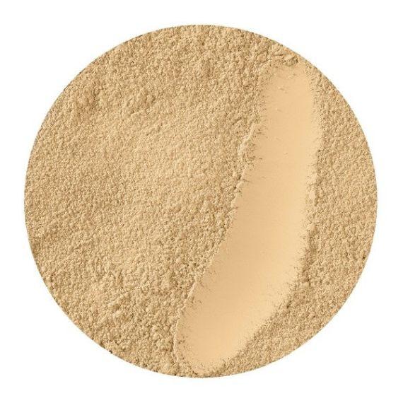 Pixie Cosmetics, Minerals Love Botanicals, MINI Podkład mineralny z bursztynem, Warm Muffin, 1ml