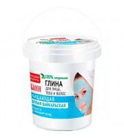 Fitokosmetik, Niebieska glinka bajkalska do pielęgnacji twarzy, ciała i włosów, 155ml