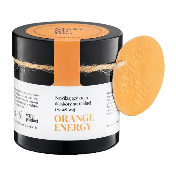 Make Me Bio, Orange Energy, Nawilżający krem do twarzy, 60 ml