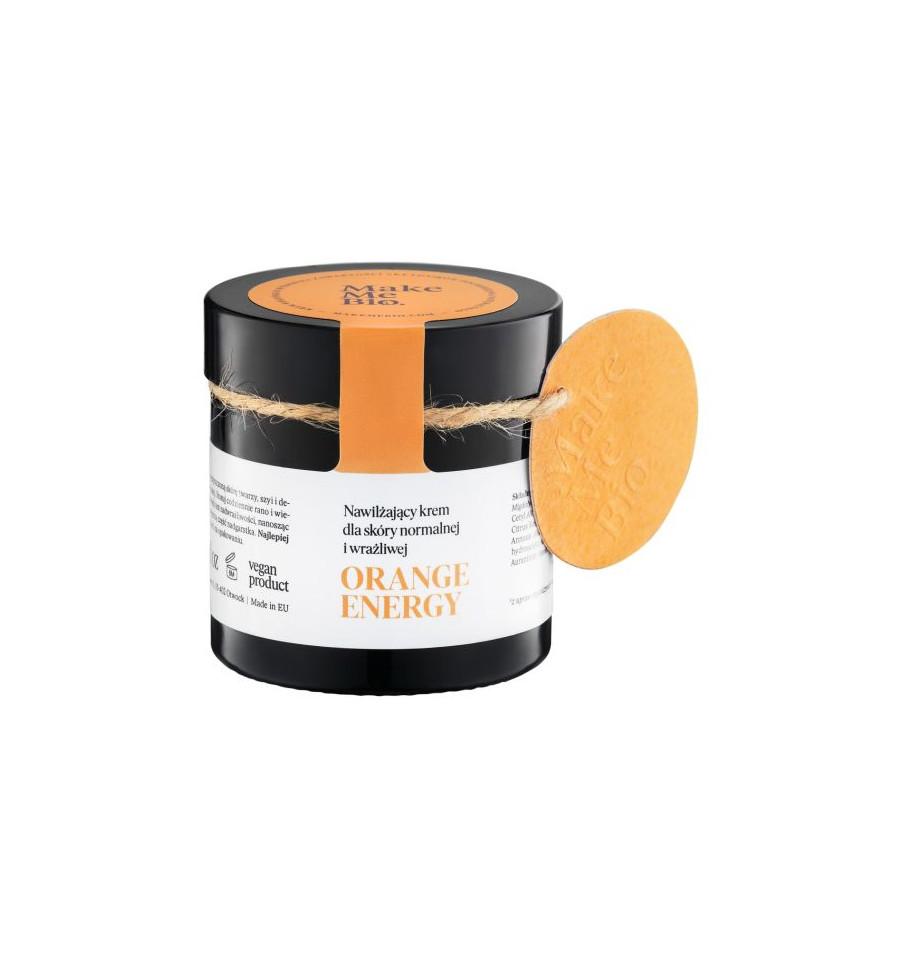 Make Me Bio, Orange Energy, Nawilżający krem do twarzy, 60 ml