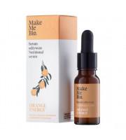 Make Me Bio, Orange Energy, Odżywcze serum do twarzy, 15 ml