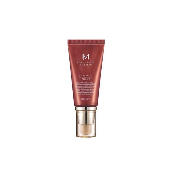 Missha M Perfect Cover BB Cream SPF42 PA+++, nr 27, 50 ml