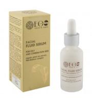 Eco Lab Strany, Fluid serum do twarzy - cera tłusta, 30ml